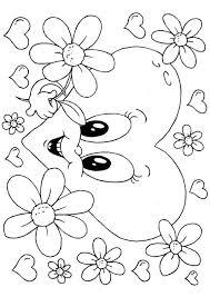 Kleurplaten Bloemen Vlinders Hartjes.Hartjes Kleurplaat 1000 Gratis Kleurplaatsen In Alle Vormen En Maten