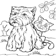 Kleurplaten Honden En Katten.Hond Kleurplaat 1000 Gratis Kleurplaatsen In Alle Vormen