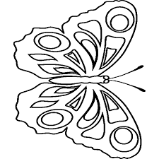 Kleurplaten Dieren Vlinders.Vlinder Kleurplaat Print De Mooie Platen Van Dit Mooie Beestje