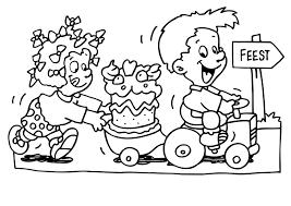 Kleurplaten Feest Opa En Oma.Verjaardag Kleurplaat Een Mooie Tekening Voor Opa Oma Mama En Papa