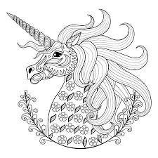 kleurplaat eenhoorn kleur dit prachtige mythische dier